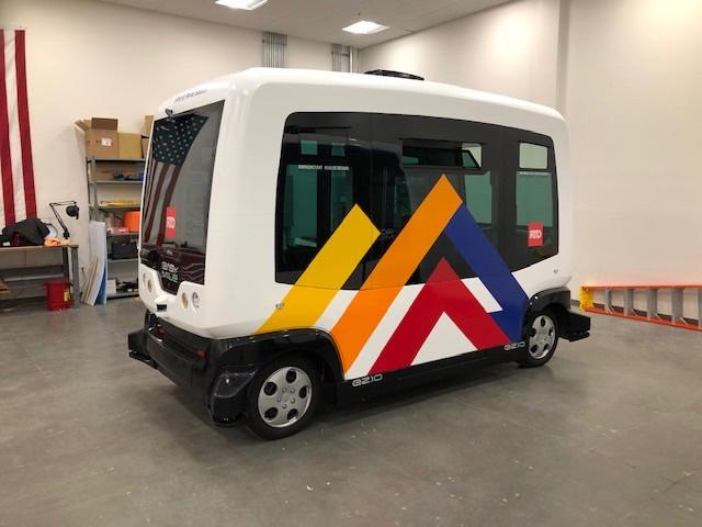 Easy Mile - Shuttle Wrap