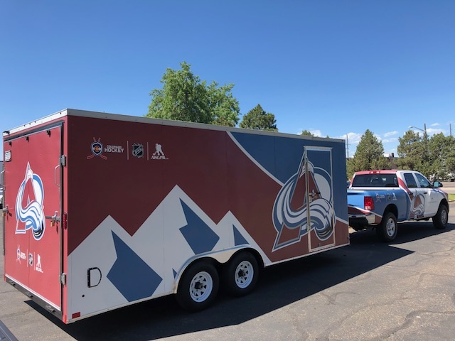 Colorado Avalanche - Vehicle Wrap