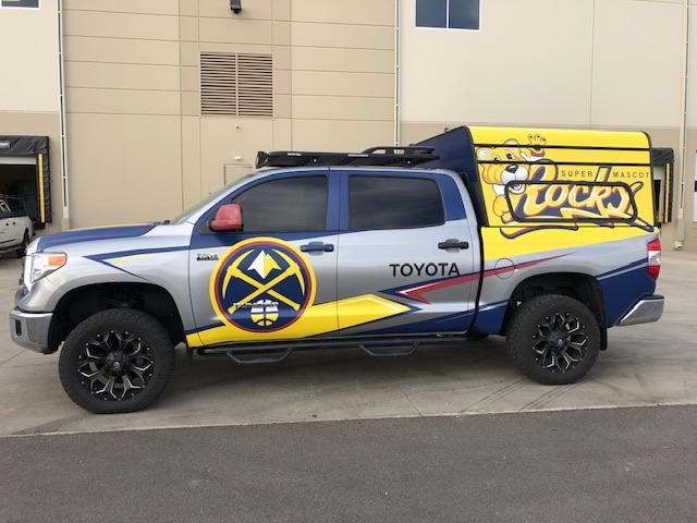 Denver Nuggets - Vehicle Wrap
