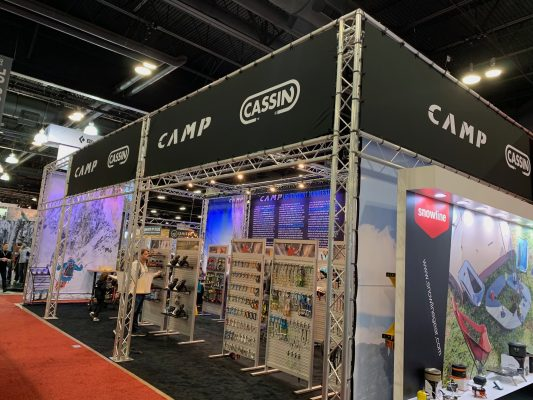 Camp - Trade Show Booth