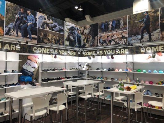 Crocs - Trade Show Booth