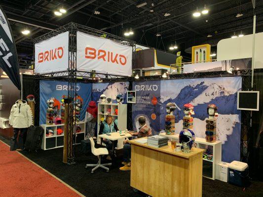 Briko - Trade Show Booth