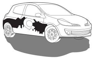 Vehicle wrap - auto
