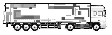 vehicle wrap - truck and trailer